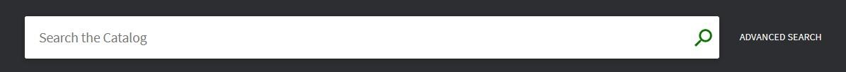 Screenshot of the catalog search bar.