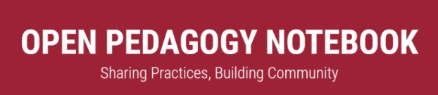 Open Pedagogy Notebook Logo