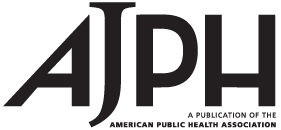 AJPH journal cover