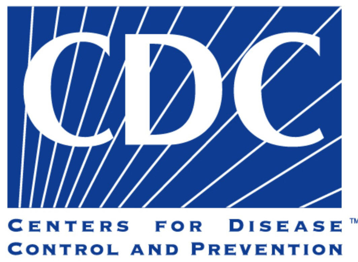 blue and white CDC logo