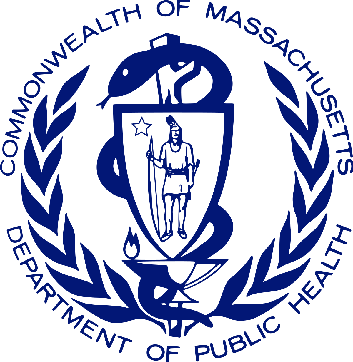 Massachusetts Department of Public Health seal
