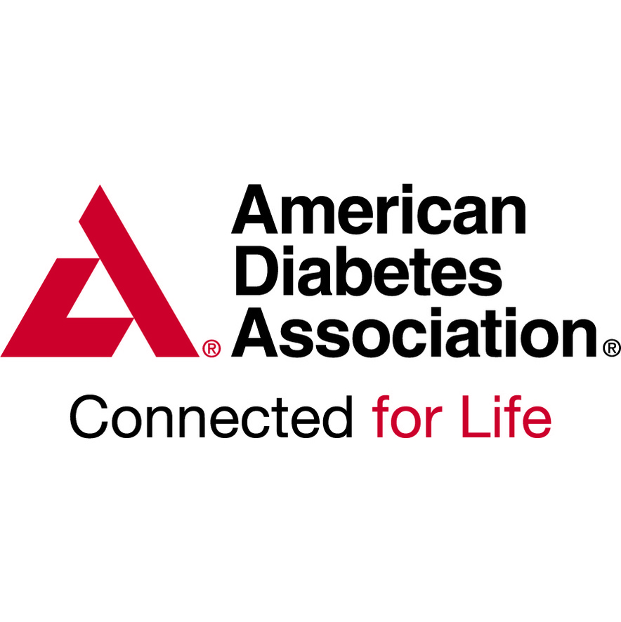 American Diabetes Association with a red geometric A