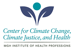 Center for Climate Change, Climate Justice, and Health logo