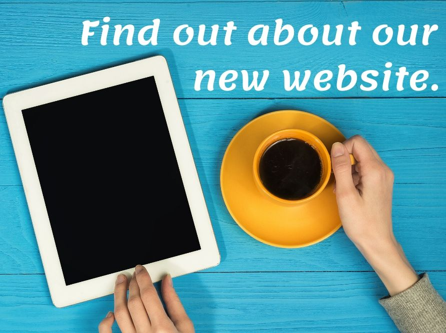 Find out about our new website!