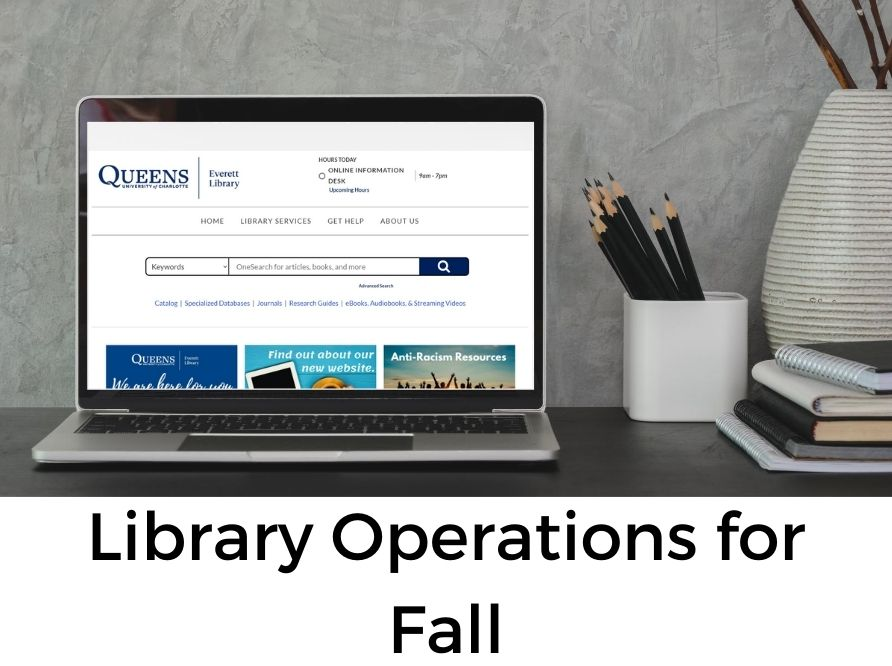 Library Operations for Fall