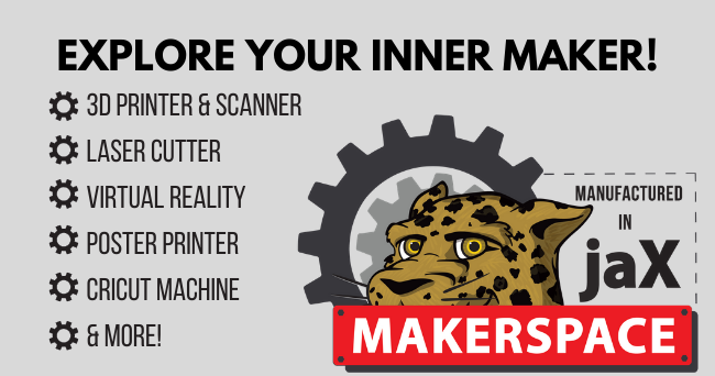 Explore your inner maker in the jaX Makerspace