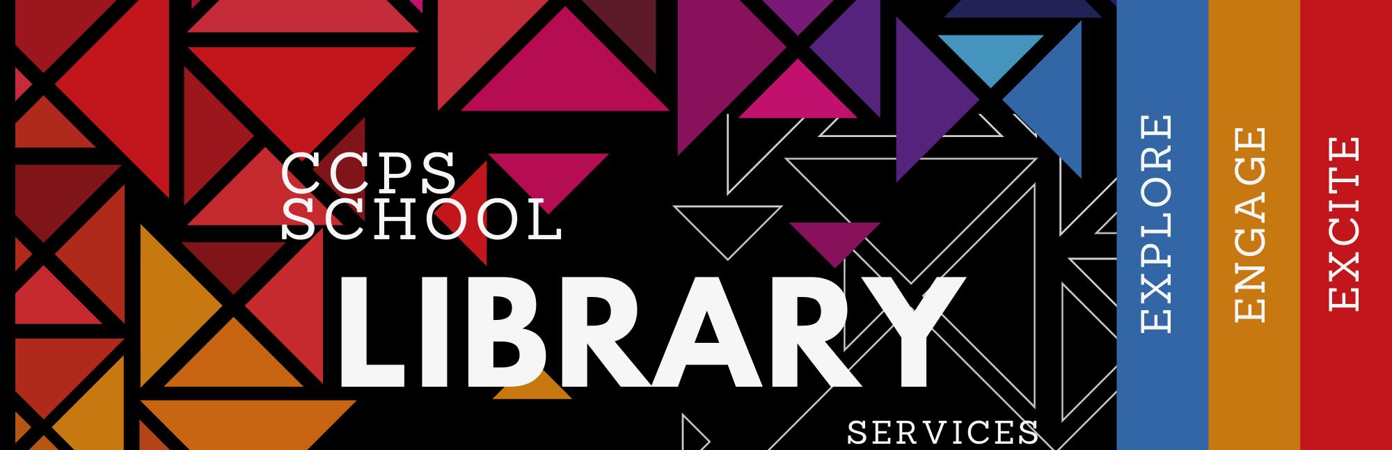ccps school libraries banner