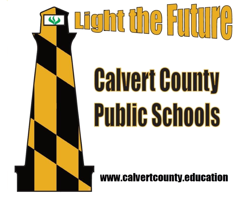 Calvert county public schools logo lighthouse