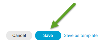 An arrow is pointing to Save.