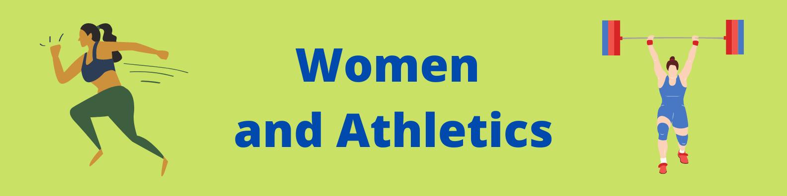 Women in Athletics - banner