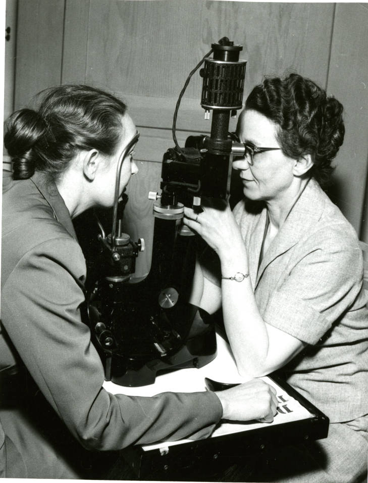 Archival image of WSC Nutrition Researchers 1954