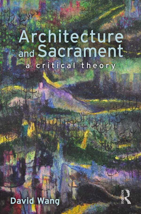 Architecture and sacrament book cover