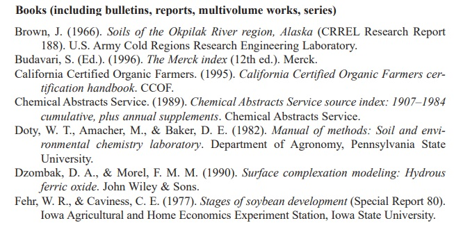 ASA book citation example