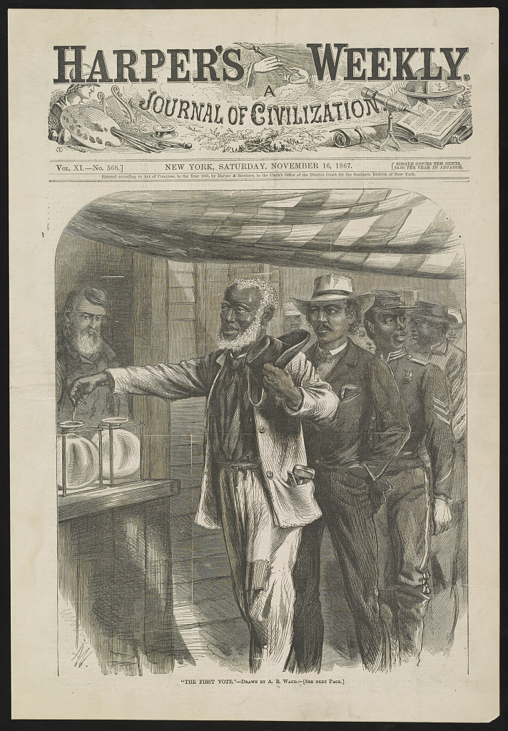 Harper's Weekly 15th Amendment Image