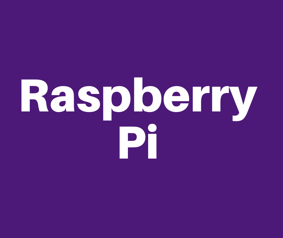 Purple Raspberry Pi Header Image.