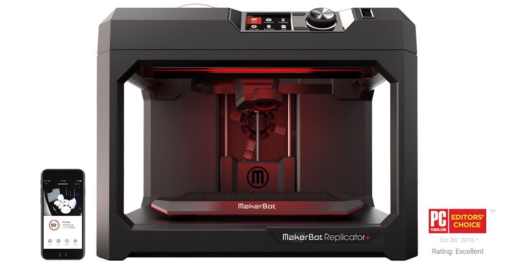 Image of maker bot 3D printer