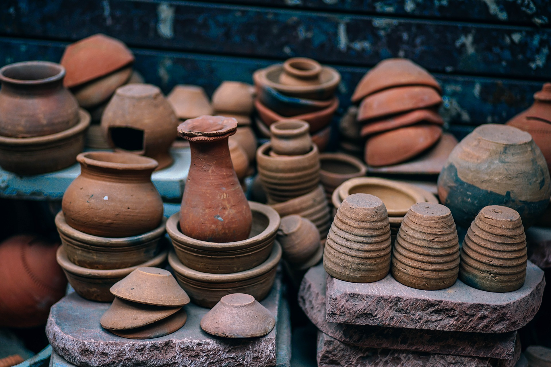 Image of pots