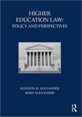 Book title:  American College and University Law