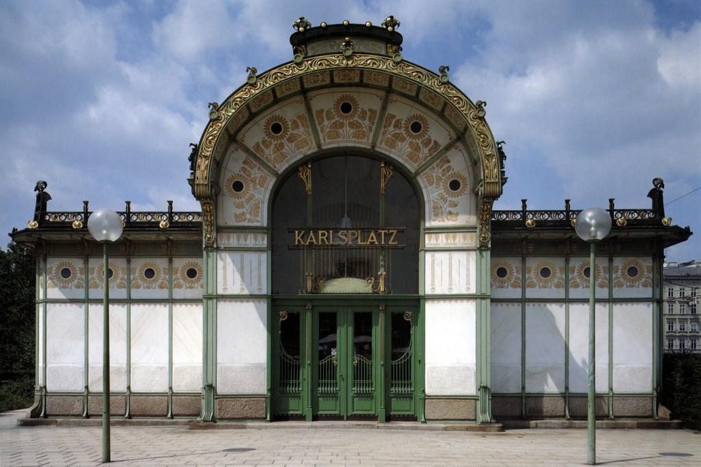 Karlsplatz Station, Vienna, Otto Wagner, 1898