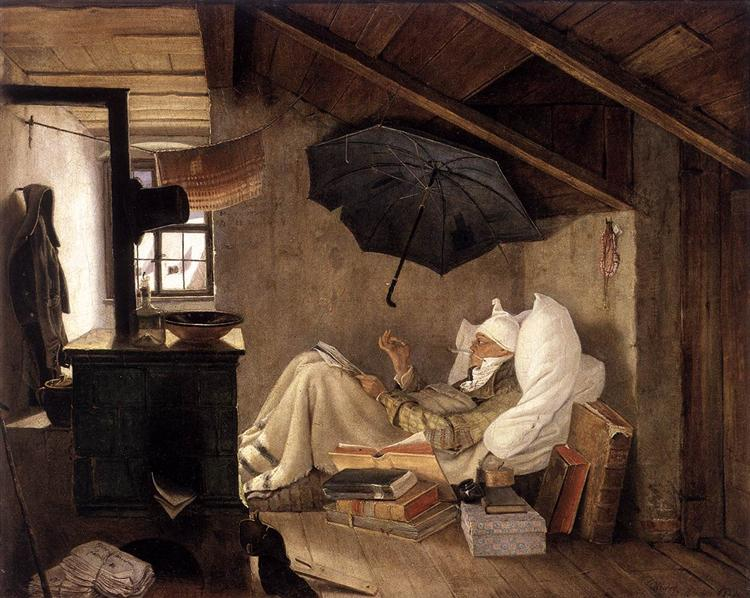 The Poor Poet by Carl Spitzweg