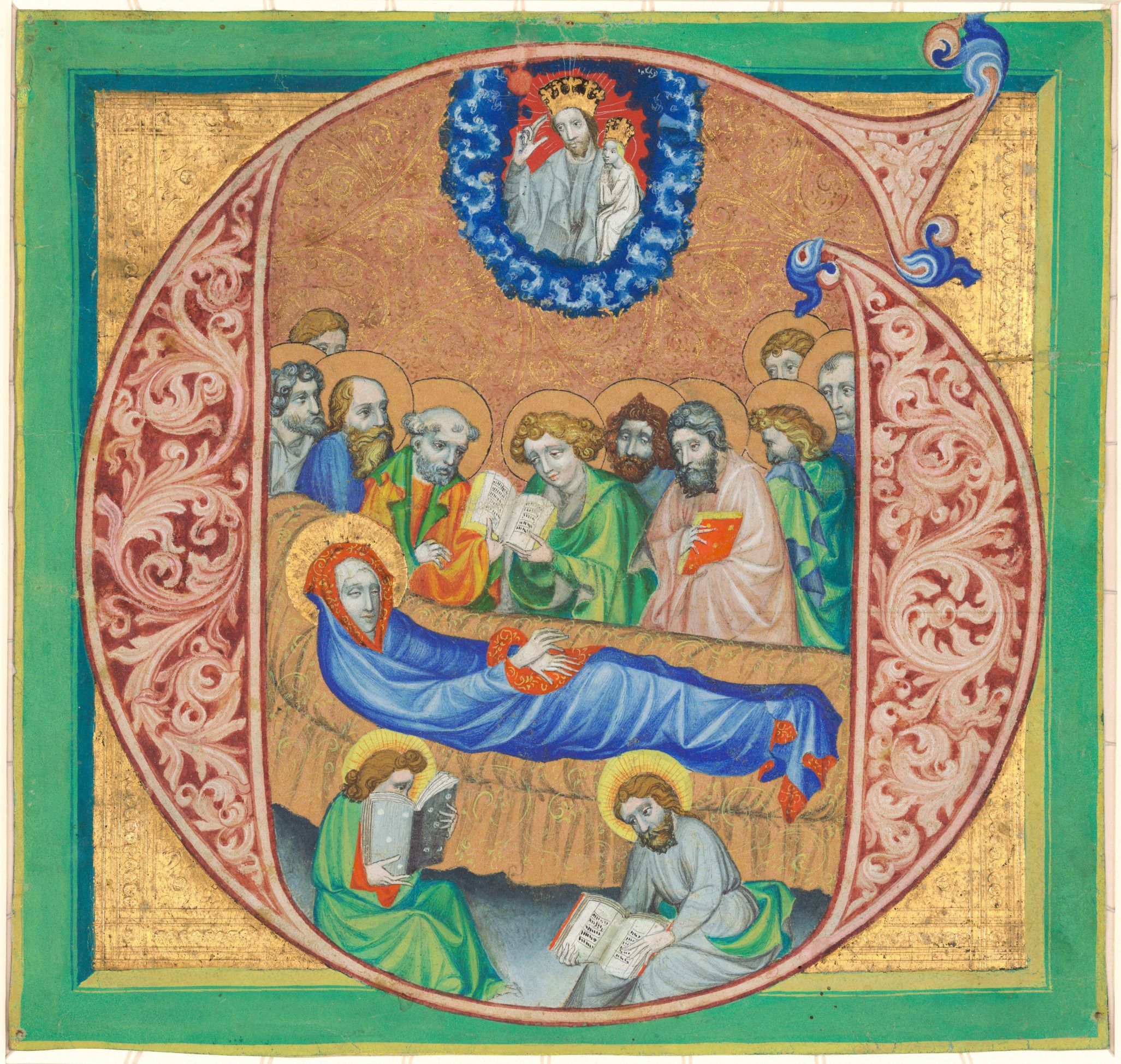 Death of the Virgin, c. 1410, Attributed to Joshua Master