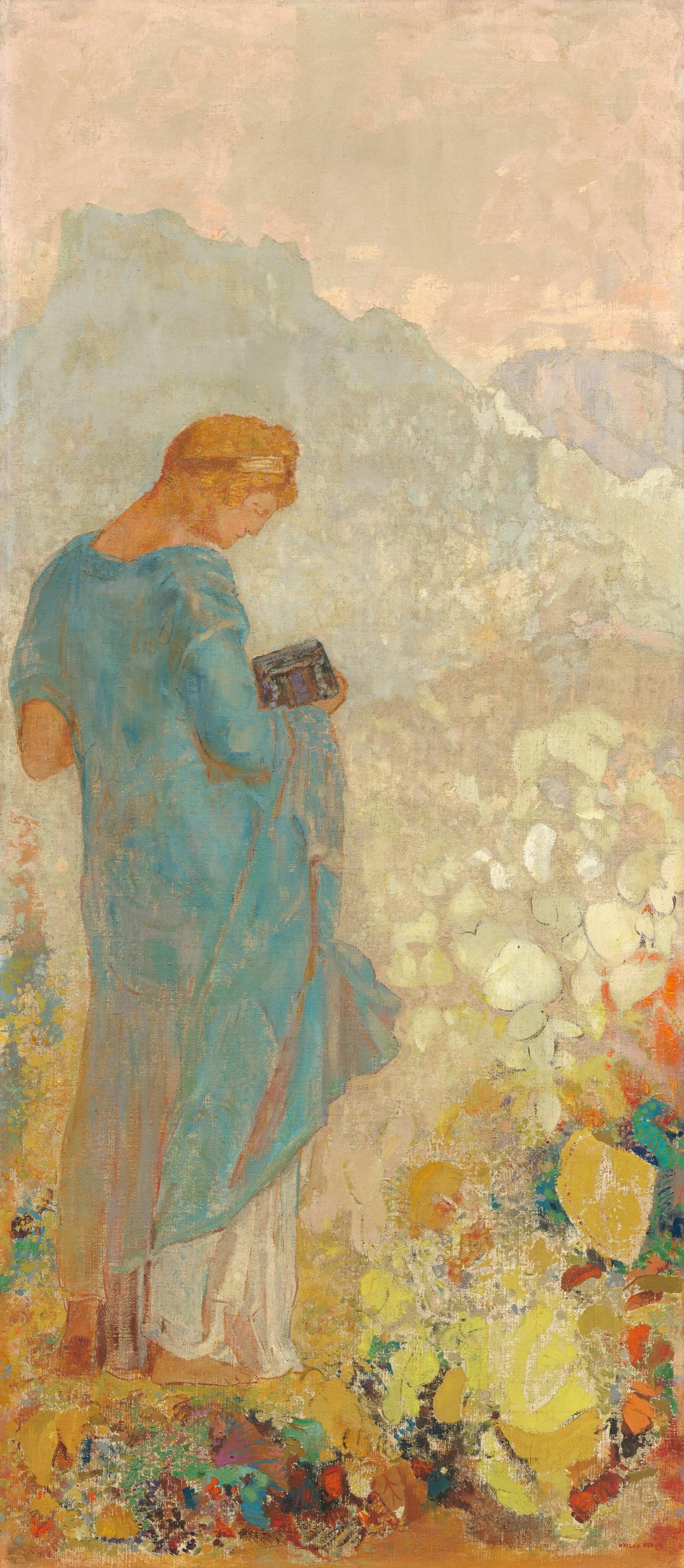 Pandora, 1910/1912, by Odilon Redon