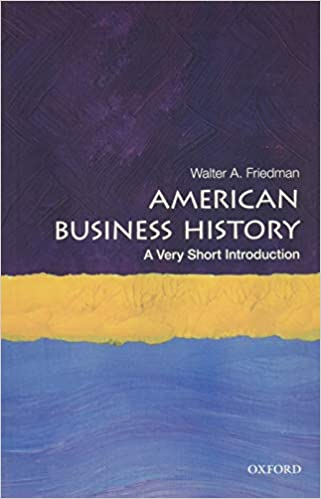 American Business History book cover