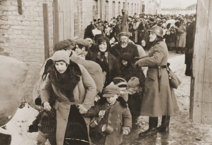 Photo about deportation of Jews from Lublin in 1942.