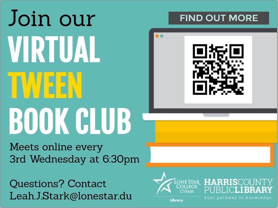 General Tween Book Club Info Flyer