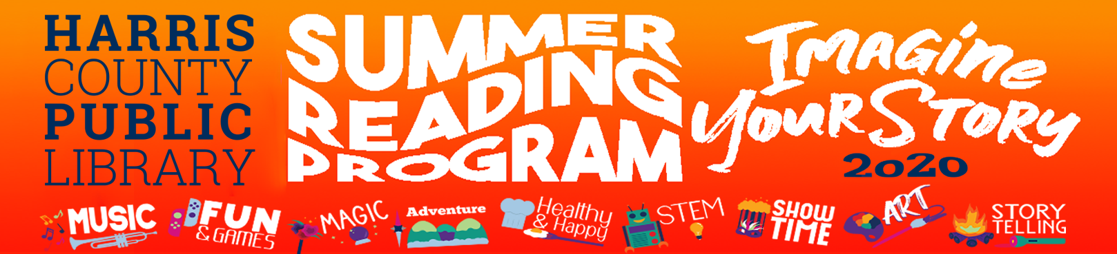 Harris County Summer Reading Program Information