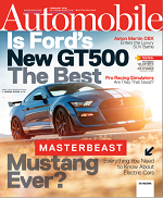 automobile Magazine Cover link to Flipster online magazines