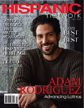 Hispanic network magazine cover link to flipster online magazine