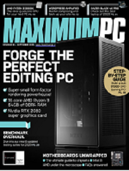 Maximum PC magazine cover link to flipster online magazine