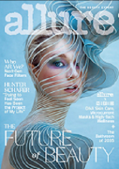 Allure Magazine Cover link to Flipster online magazines