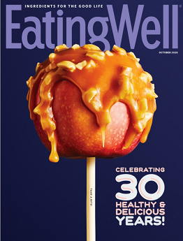 Eating Well Magazine Cover link to Flipster online magazines