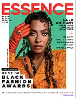 Essence Magazine Cover link to Flipster online magazines