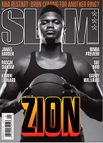 Slam magazine cover link to flipster online magazine