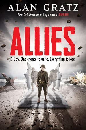 Allies by Alan Gratz book cover