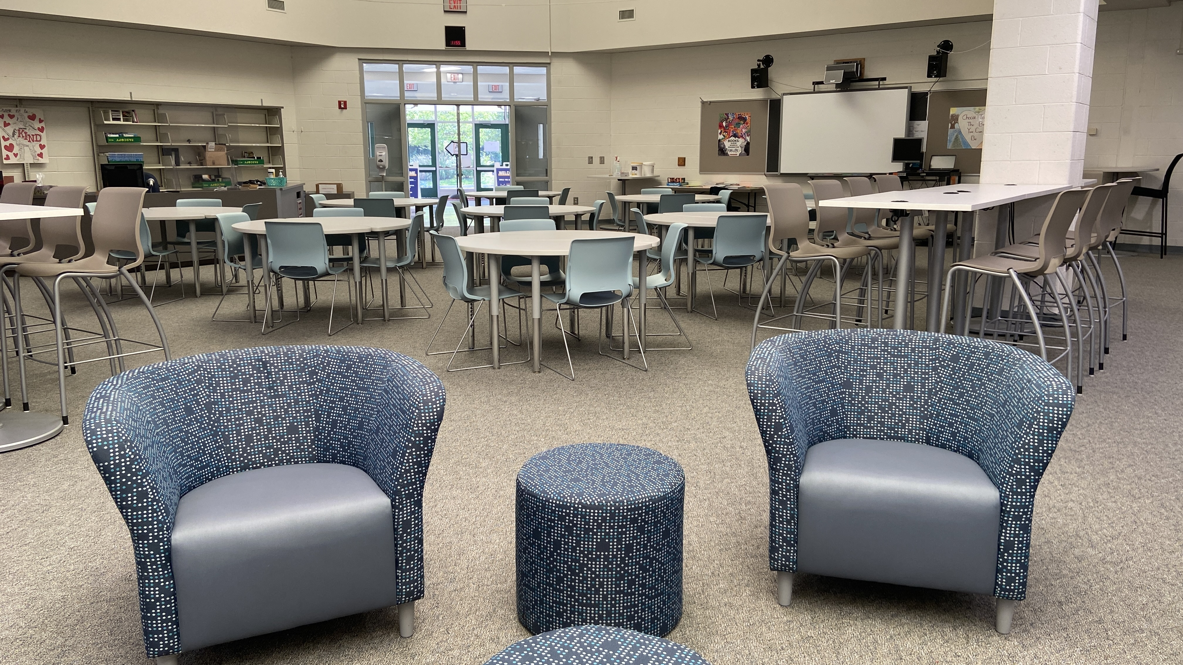 Windy Hill Library seating
