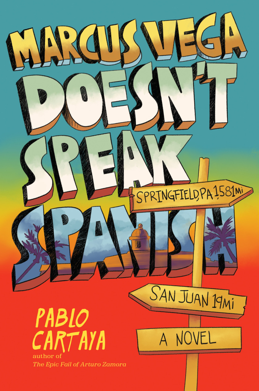 Marcus Vega Doesn't Speak Spanish book cover