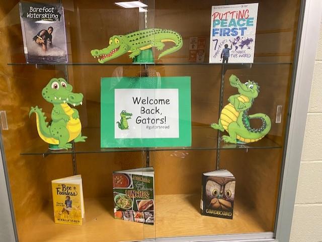 welcome back display