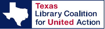 logo for Texas Library Coalition for United Action