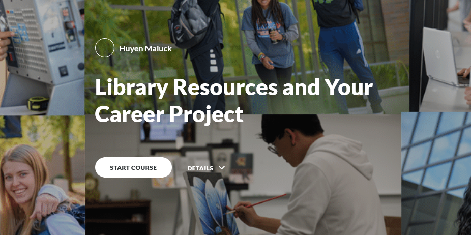 Library Resources and Your Career Project