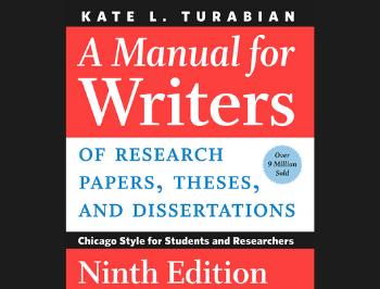 Turabian Manual Cover