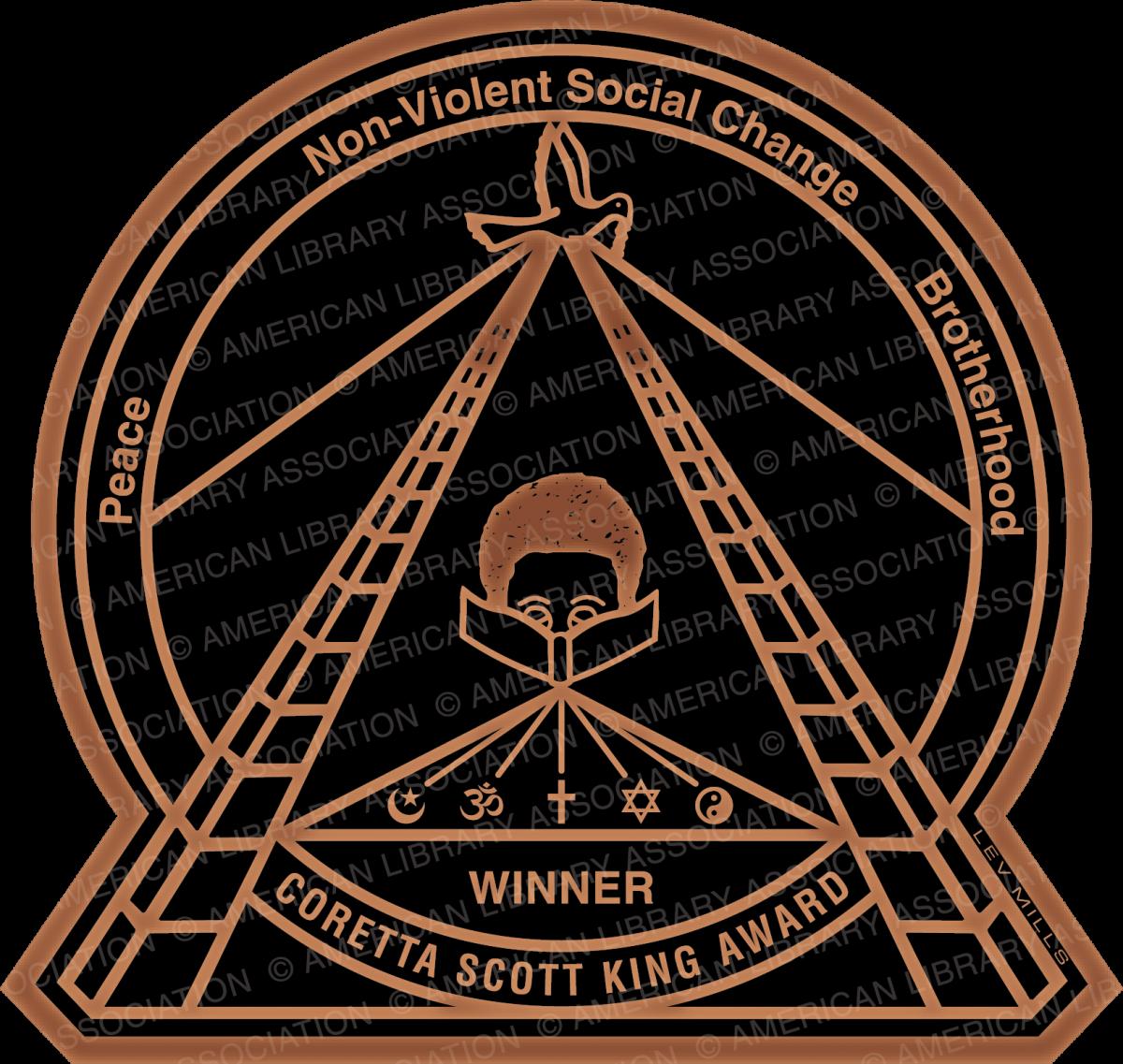 Coretta Scott King Book Awards logo