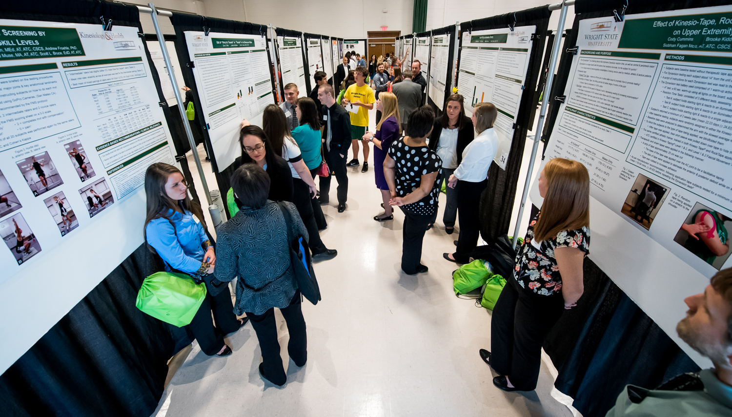 The 2016 Wright State University Celebration of Research, Scholarship and Creative Activities served as a university-wide showcase of research projects by undergraduate and graduate students