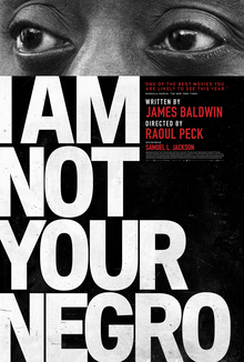 I Am Not Your Negro Cover Art
