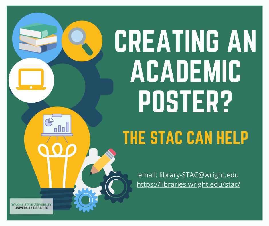 Creating an Academic Poster? The STAC can help!