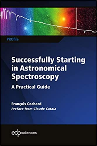 Successfully Starting in Astronomical Spectroscopy eBook cover