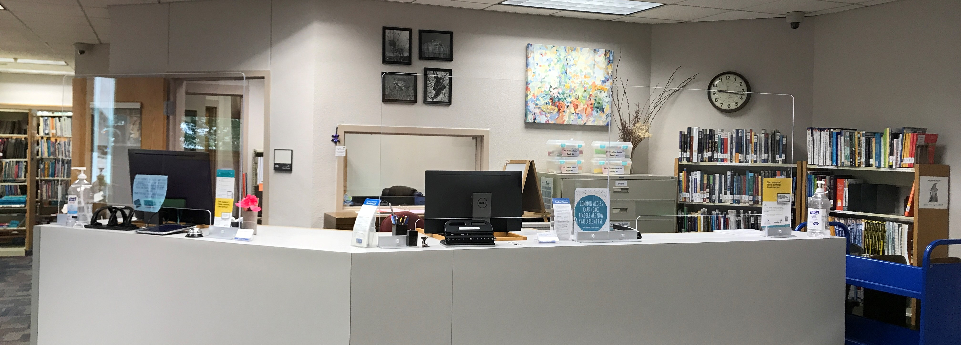 Professional Studies Library Service Desk
